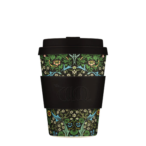 William Morris Blackthorn 12oz Ecoffee Reusable Bamboo Coffee Cup with Lid
