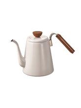 Load image into Gallery viewer, Hario Bona Enamel Drip Kettle - Gooseneck Stove Top