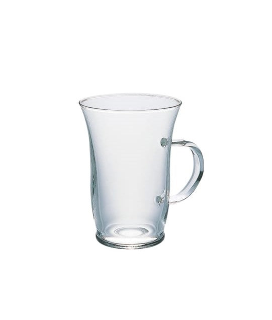 Hario Hot Glass Latte Coffee Cup 240ml Glass Coffee Mug