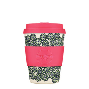 Like, Totally! Reusable Bamboo 12oz Ecoffee Cup with Lid