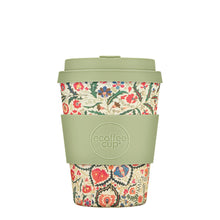 Load image into Gallery viewer, Papafranco Reusable Bamboo 12oz Ecoffee Cup with Lid