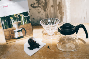 Hario Craft V60 Size 02 Coffee Dripper Kit with Packaging