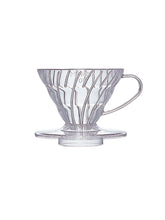 Load image into Gallery viewer, Hario V60 Small Plastic 01 Coffee Dripper - Pour Over Coffee Maker