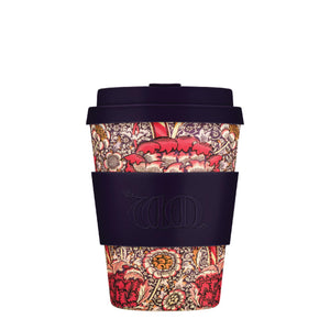William Morris Wandle 12oz Ecoffee Reusable Bamboo Coffee Cup with Lid