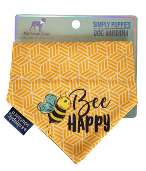 Simply Southern Dog Bandana-Bee