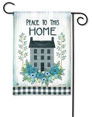 Garden Flag - Peace to this Home