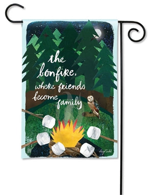 Garden Flag - The Bonfire