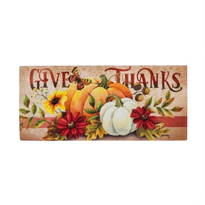 Sassafras Mat Insert - Give Thanks