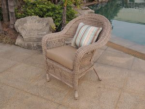Wicker Chair - Fieldstone