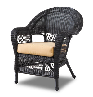 Wicker Chair - Ebony
