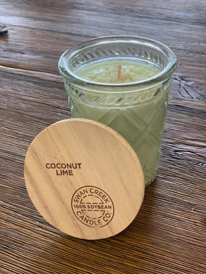 Swan Creek Candles - Timeless Collection - Coconut Lime