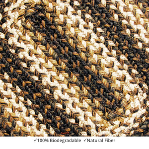 Braided Rug HS 4x6 Rectangle - Kilimanjaro