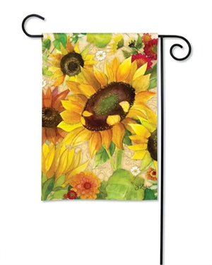 Garden Flag - Yellow Sunflower