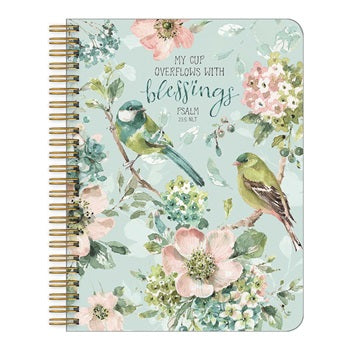 Legacy Medium Notebook - My Cup Overflows