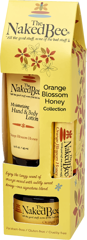 Naked Bee Gift Set-Orange Blossom Honey