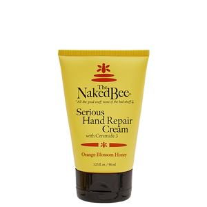 Naked Bee 3.25oz Serious Hand Repair Cream-Orange Blossom Honey