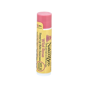 Naked Bee SPF 15 Tinted Lip Balm-Wild Rose