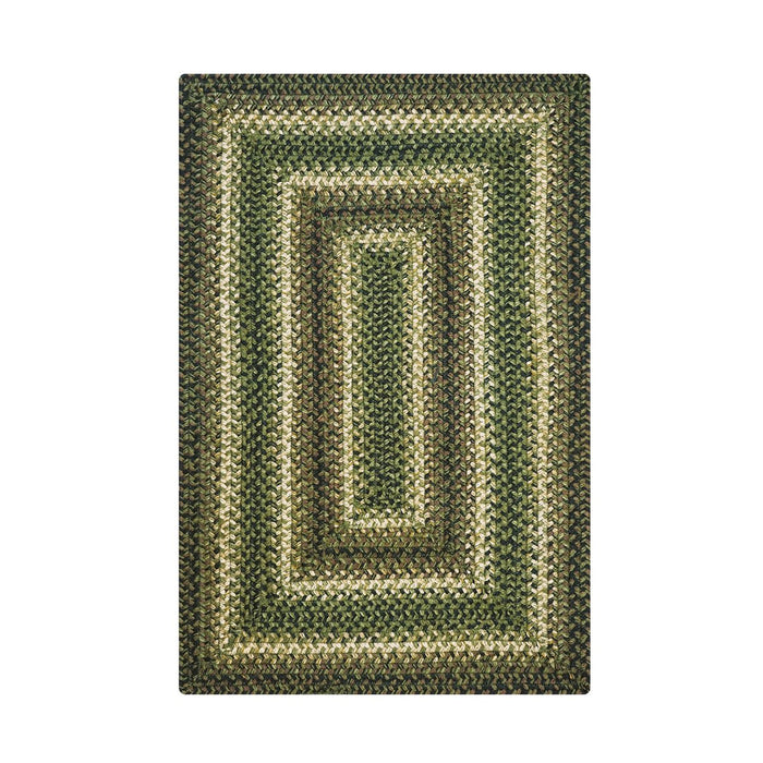 Braided Rug HS 4x6 Rectangal - Pinecone