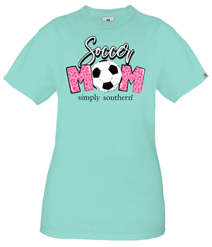 Simply Southern Tee - Soccer Mom Celedon