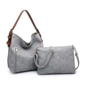 Alexa Distress Hobo Bag - GBL
