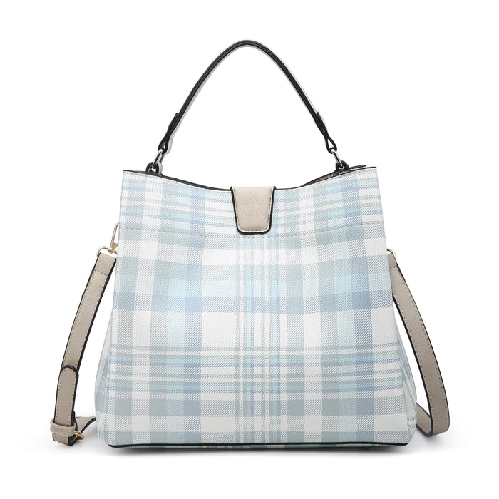 Tati Hobo Bag - Plaid Neu