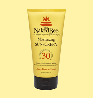 Naked Bee 5.5oz Sunscreen-Orange Blossom Honey