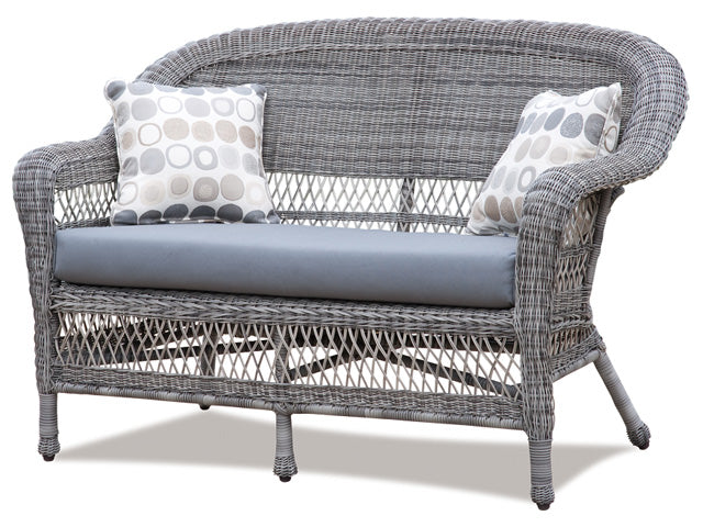 Wicker Loveseat - Fieldstone