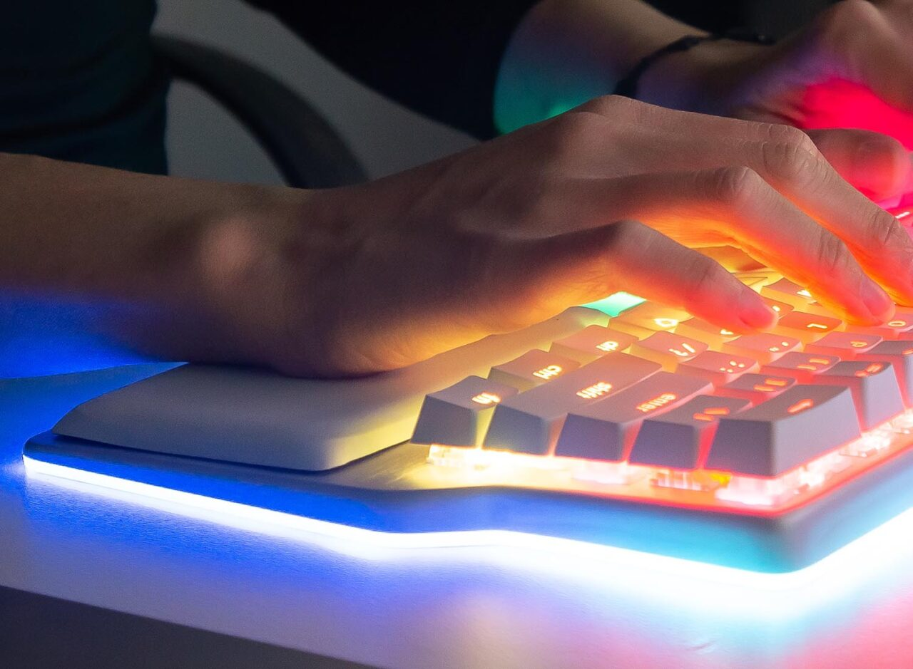 Raise - Ergonomic Split Keyboard benefits