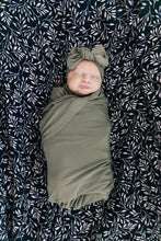 Load image into Gallery viewer, Olive Stretch Swaddle