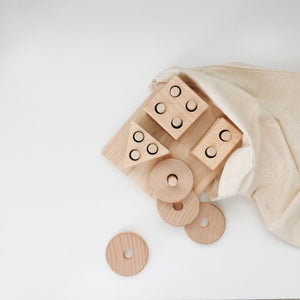 Eco Wooden Shape Sorter