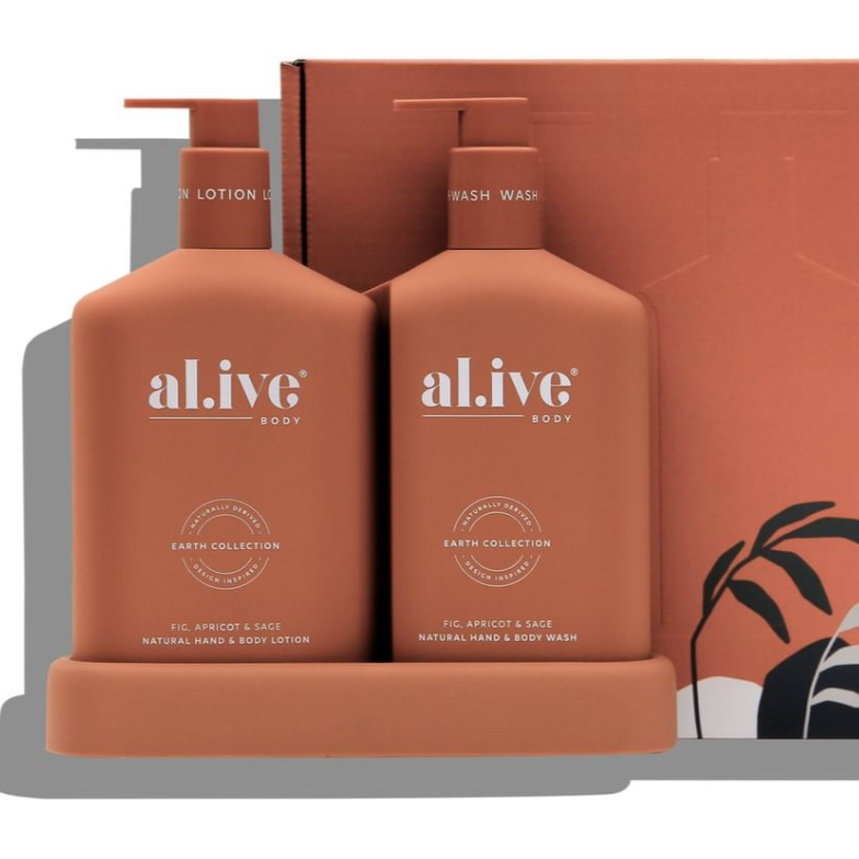 AL.IVE BODY :  Fig, Apricot & Sage Duo