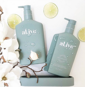 AL.IVE BODY : Kaffir Lime & Green Tea Duo