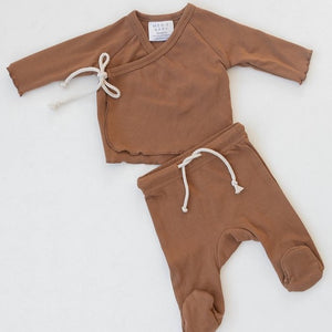Honey Cotton Layette Set