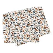 Load image into Gallery viewer, Harvest Floral Burp Cloth