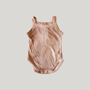 Blush Teddy Tank Suit