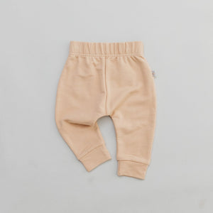 Bamboo French Terry Jogger - Wheat