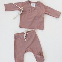 Load image into Gallery viewer, Blush Cotton Layette Set