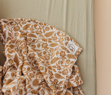 Load image into Gallery viewer, Organic Bamboo Muslin Swaddle - Ginger Boho