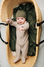 Load image into Gallery viewer, Olive Newborn Knot Hat
