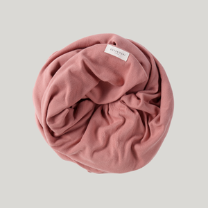 Pink Clay Organic Swaddle Blanket