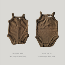 Load image into Gallery viewer, Tank Top Suit Khaki