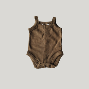 Tank Top Suit Khaki