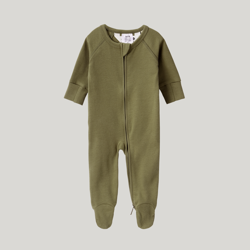 Leaf Organic Zip Growsuit