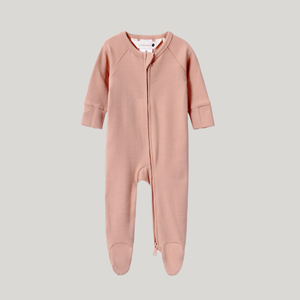 Tan Organic Zip Growsuit