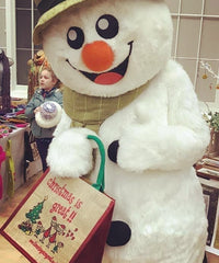 Christmas is great tote bag snowman