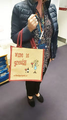 Wine is great bag for life NHS staff