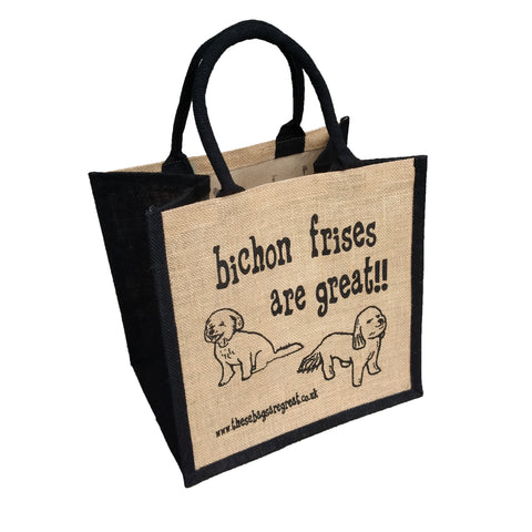 Bichon Frises are Great Bag