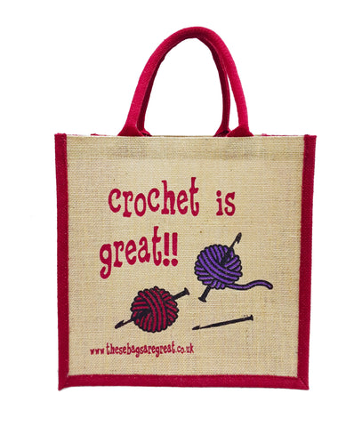 Crochet is Great Bag