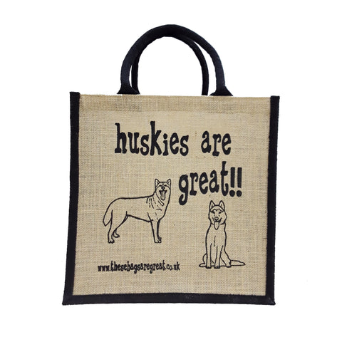Huskies are Great Bag