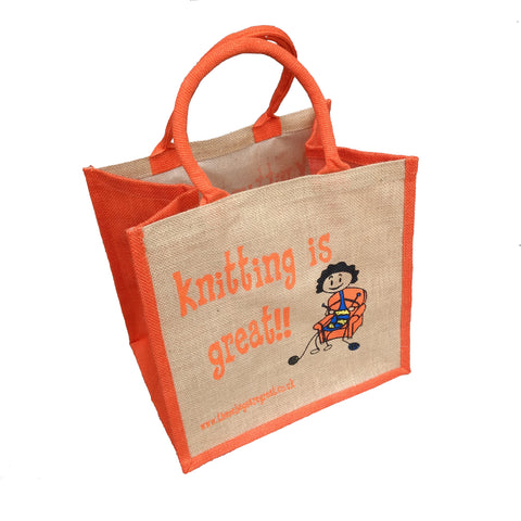 Knitting is Great Bag